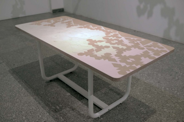 Table 0.01 Installation Summer 2014 at Artium Museum of Basque Contemporary Art.